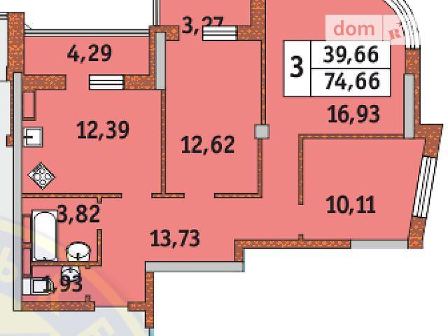 Продаж квартири, 3 кім., Киев, р‑н.Соломенський, ул. Петра Радченко, 27