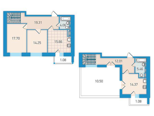 Продаж квартири, 3 кім., Киев, р‑н.Святошинський, ст.м.Житомирская, бульв. Академика Вернадского, 24