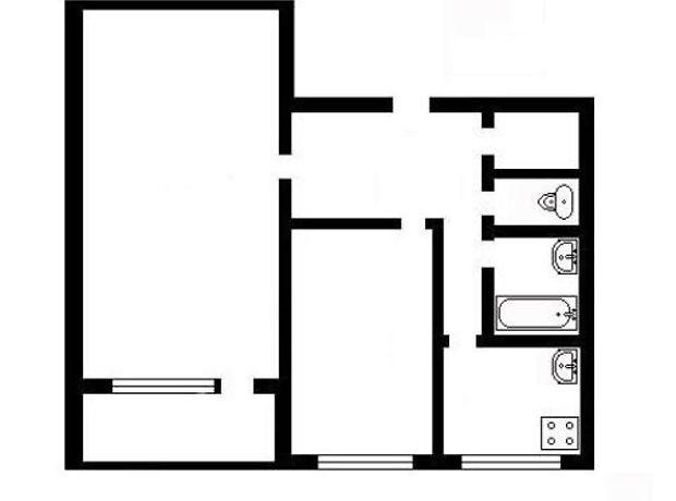 Продажа квартиры, 2 ком., Киев, р‑н.Святошинский, Кольцова бульвар, дом 15