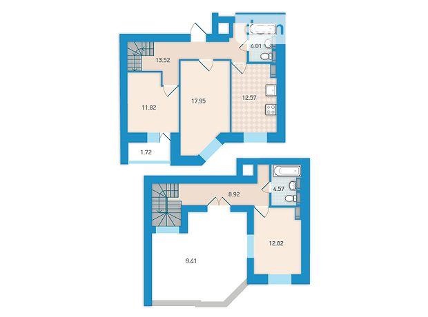 Продажа трехкомнатной квартиры в Киеве, на бул. Академика Вернадского район Святошинский фото 1