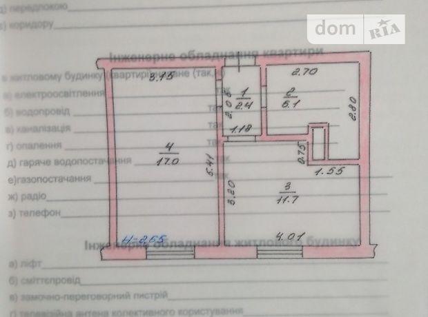Продажа квартиры, 1 ком., Киевская, Киево-Святошинский, c.Бузовая, Центральная , дом 17