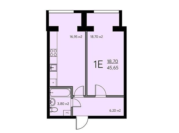 Продажа однокомнатной квартиры в Киево-Святошинске, на Одесская 24 район Крюковщина фото 1