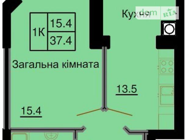 Продажа квартиры, 1 ком., Киевская, Киево-Святошинский, c.Софиевская Борщаговка, зеленая, дом 8