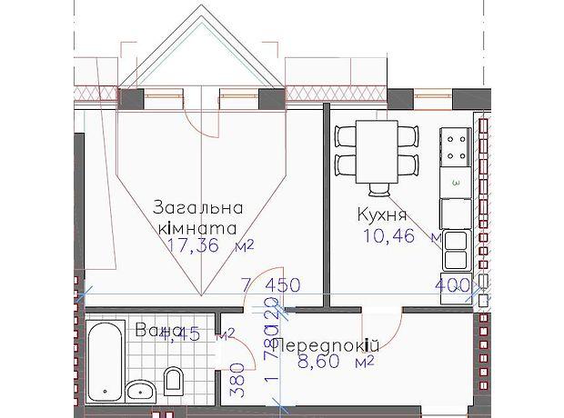 Продажа квартиры, 1 ком., Киевская, Киево-Святошинский, c.Михайловка-Рубежовка, Чубинского 10