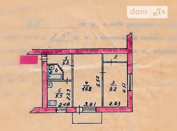 Продажа двухкомнатной квартиры в Коростене, на Сосновского 46, район Коростень фото 1