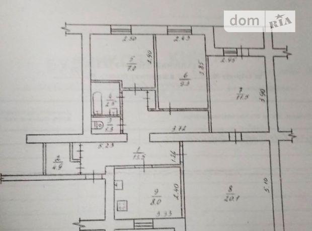 Продажа квартиры, 4 ком., Житомирская, Коростышев, р‑н.Коростышев
