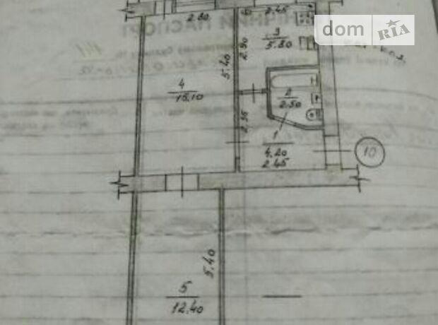 Продаж двокімнатної квартири в Коростишеві фото 1