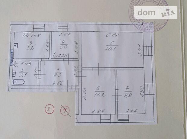 Продажа четырехкомнатной квартиры в Кременчуге, на Макаренко 2, кв. 2, район Кременчуг фото 1