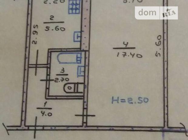 Продажа квартиры, 1 ком., Днепропетровская, Кривой Рог, р‑н.Жовтневый, Кропивницкого улица