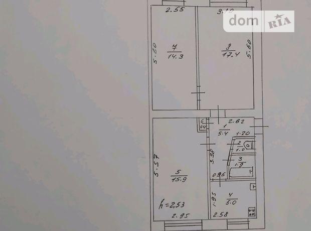 Продажа трехкомнатной квартиры в Купянске, на Травня Першого 12 район Купянск фото 1