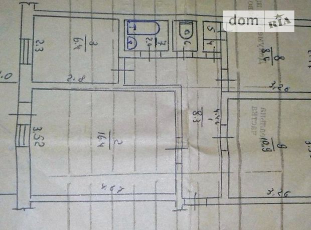Продаж квартири, 3 кім., Вінницька, Ладижин, р‑н.Ладижин, Строителей улица, буд. 26