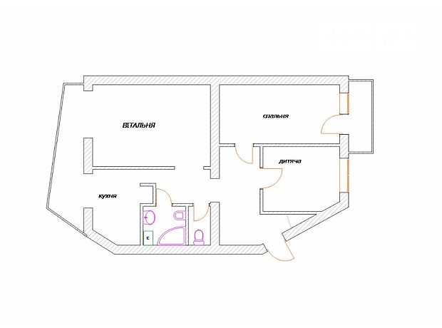 Продажа трехкомнатной квартиры в Луцке, на просп. Соборности район 33 микрорайон фото 1