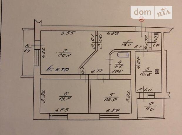 Продаж трикімнатної квартири в Луцьку на Новочерчицкая  улица район Кічкарівка фото 1