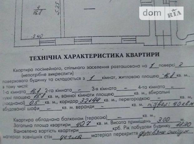 Продаж квартири, 1 кім., Львів, р‑н.Галицький, Стефаника вулиця