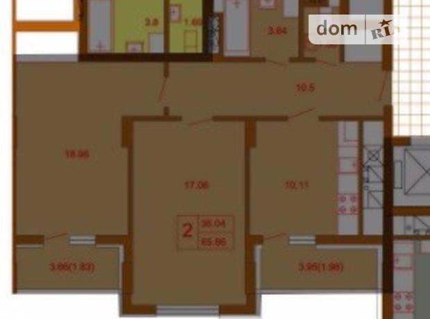 Продажа квартиры, 2 ком., Львов, р‑н.Голоско, Замарстиновская улица, дом 233
