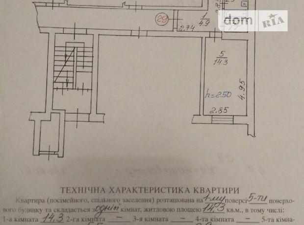 Продажа квартиры, 1 ком., Львов, р‑н.Левандовка, Калнышевского улица, дом 4 а