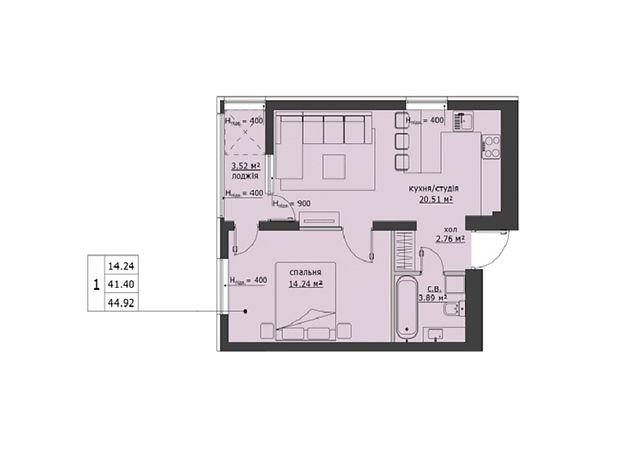 Продаж однокімнатної квартири в Львові на вул. Городницька район Шевченківський фото 1