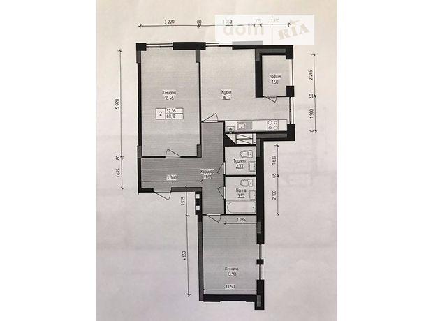 Продажа квартиры, 1 ком., Львов, Стрыйская улица, дом 195