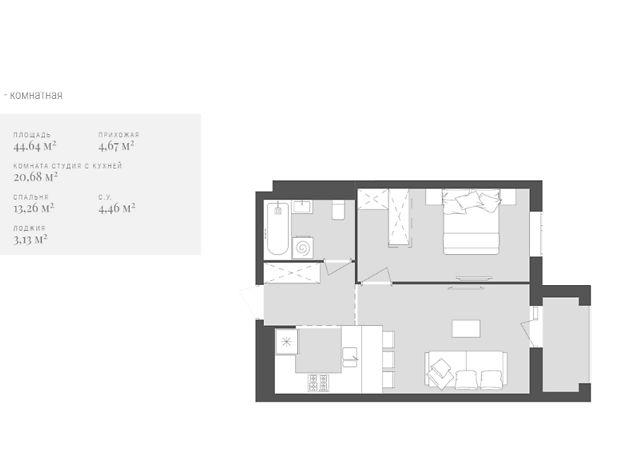 Продажа однокомнатной квартиры в Львове, на ул. Зеленая 191, район Сыховский фото 1