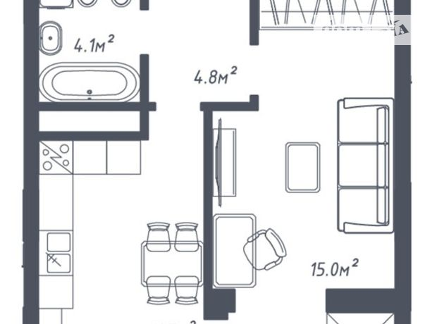 Продажа однокомнатной квартиры в Львове, на ул. Зеленая 265, район Сыховский фото 1