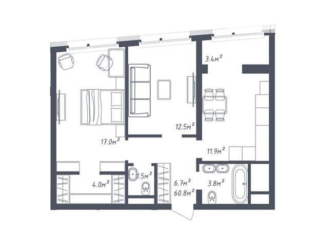 Продажа двухкомнатной квартиры в Львове, на ул. Зеленая 265, район Сыховский фото 1