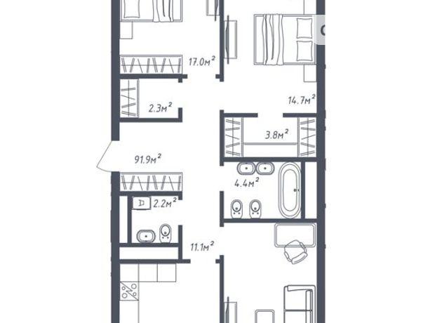 Продажа трехкомнатной квартиры в Львове, на ул. Зеленая 265, район Сыховский фото 1