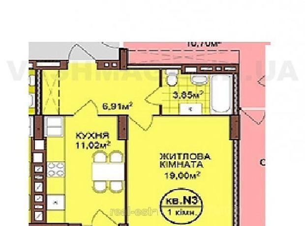 Продажа квартиры, 1 ком., Львов, р‑н.Сыховский, Зеленая улица