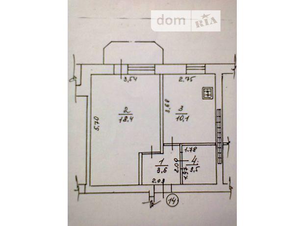 Продаж квартири, 1 кім., Полтавська, Миргород, р‑н.Миргород, Гоголя, буд. 54