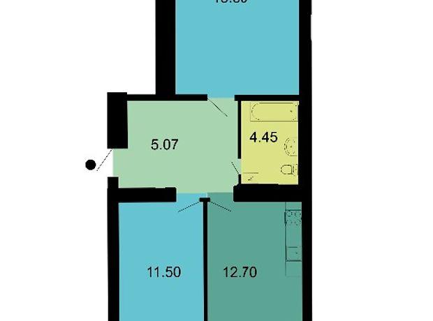 Продажа квартиры, 2 ком., Николаев, р‑н.Намыв, Лазурная, дом 9
