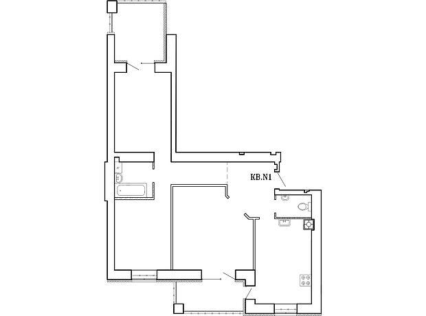 Продажа трехкомнатной квартиры в Николаеве, на ул. Новоодесская район Центральный фото 1