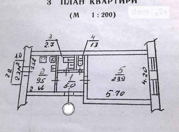 Продажа квартиры, 1 ком., Николаев, р‑н.Центральный, Потемкинская улица, дом 12