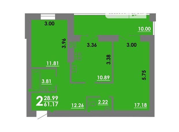 Продажа двухкомнатной квартиры в Николаеве, на просп. Сталинграда район Центральный фото 1
