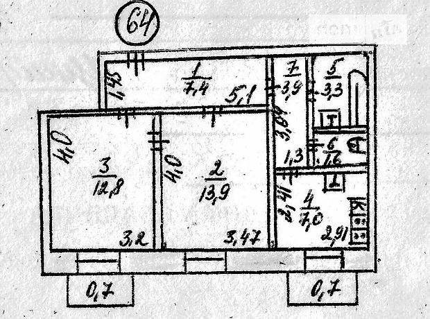 Продажа квартиры, 2 ком., Николаев, р‑н.Заводской, Фалеевская , дом 91