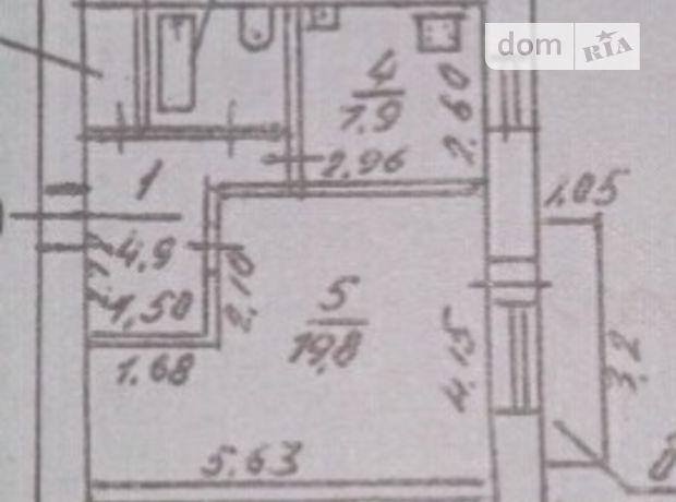 Продажа квартиры, 1 ком., Николаев, р‑н.Заводской, Генерала Карпенко улица