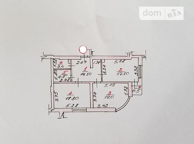 Продажа квартиры, 2 ком., Николаев, р‑н.Заводской, Лазурная улица, дом 5