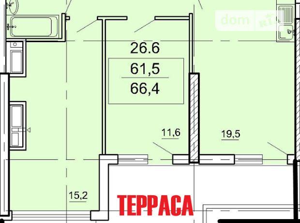 Продажа двухкомнатной квартиры в Одессе, на ул. Тенистая район Большой Фонтан фото 1