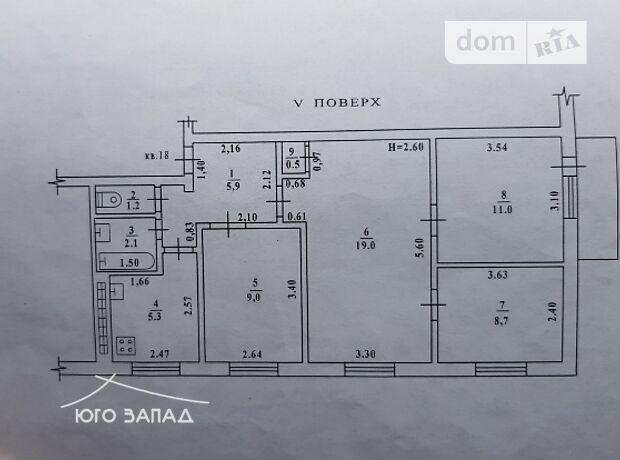 Продажа четырехкомнатной квартиры в Одессе, на ул. Ицхака Рабина район Черемушки фото 2