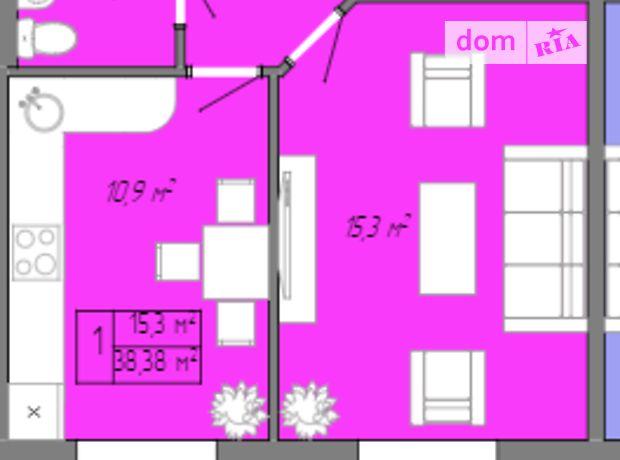 Продажа однокомнатной квартиры в Одессе, на ул. Жемчужная 3а, фото 1