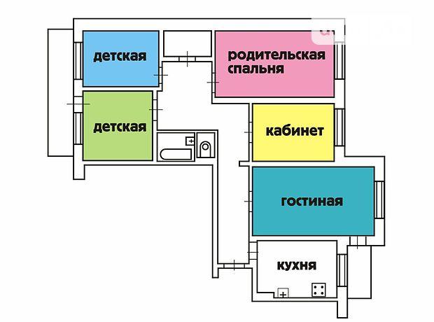 Продажа квартиры, 5 ком., Одесса, р‑н.Киевский, Академика Королева улица, дом 64Б