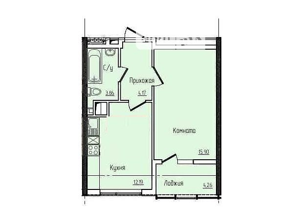 Продажа квартиры, 1 ком., Одесса, р‑н.Киевский, Архитекторская улица