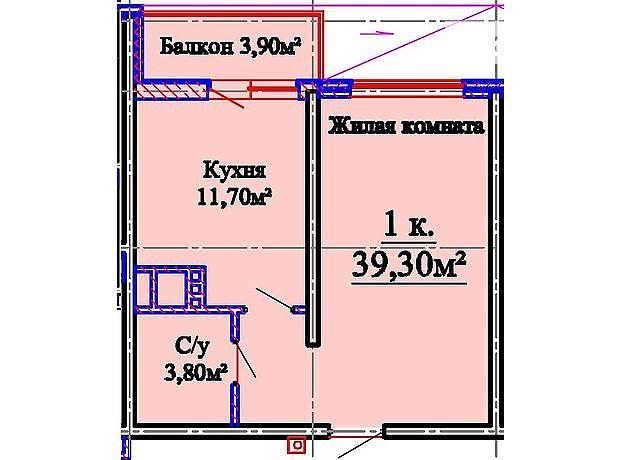 Продажа квартиры, 1 ком., Одесса, р‑н.Киевский, Жаботинского улица