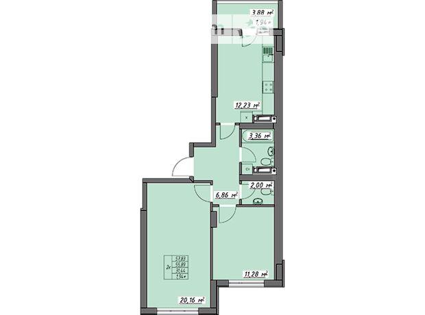 Продажа двухкомнатной квартиры в Одессе, на ул. Академика Воробьёва район Слободка фото 1