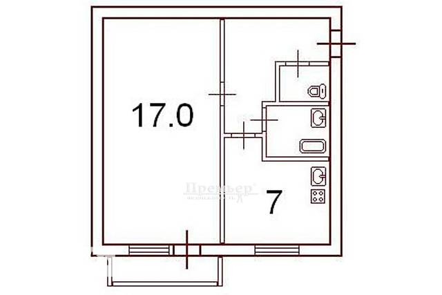 Dom.ria - продам 1 комнатную квартиру в г. одесса (одесская .