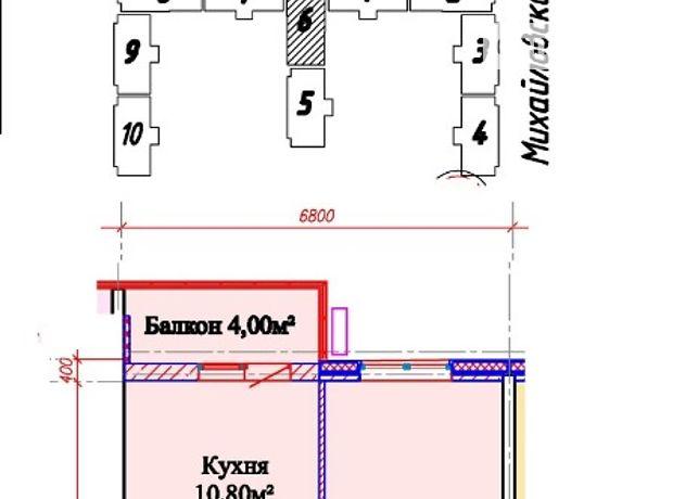 Продажа квартиры, 1 ком., Одесса, р‑н.Молдаванка, Михайловская улица, дом 8