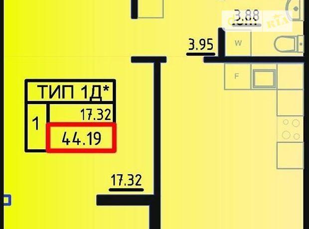 Продажа квартиры, 1 ком., Одесса, р‑н.Поселок Котовского, Марсельская улица