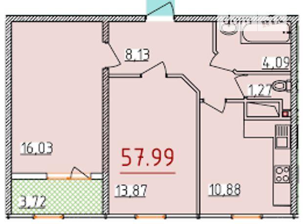 Продажа двухкомнатной квартиры в Одессе, на 1-й пер. Бассейный район Приморский фото 1