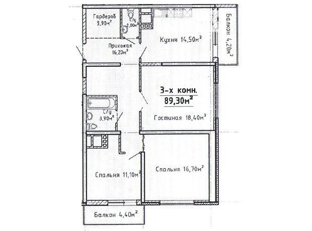 Продаж квартири, 3 кім., Одеса, р‑н.Приморський, Бисквитный переулок