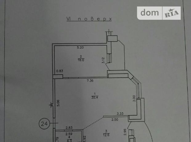 Продажа квартиры, 2 ком., Одесса, р‑н.Приморский, Маршала Говорова улица, дом 8