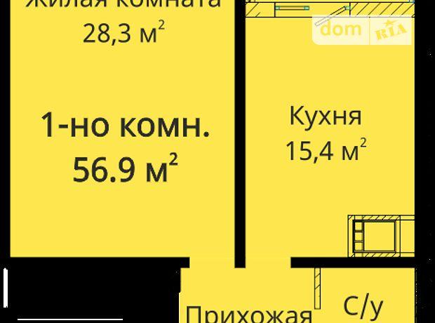 Продажа квартиры, 1 ком., Одесса, р‑н.Приморский, Михайловская улица, дом 8