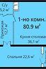 Продажа двухкомнатной квартиры в Одессе, на ул. Новобереговая район Приморский фото 4